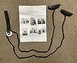 Therapist's Choice® Shoulder Pulley, Over The Door (Black)
