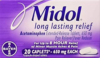 Midol Long Lasting Relief, 20 Count