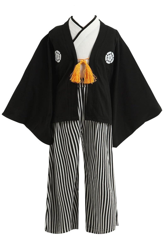 (ポッケポッシュ) Pokke Poche 当店オリジナル 紋付袴(はかま) 羽織付き3点セット【288504t】