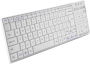Cuifati Wireless Keyboard Numeric Key & Mouse Function ltra Slim Rechargeable Wireless Keyboard Wireless Multi-Device Keyb...