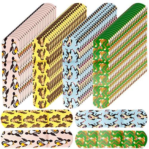 newgen medicals Kinderpflaster: 100er-Pack medizinische Kinder-Pflaster, Tiermotive, hautfreundlich (Selbsthaftende Kinder-Pflaster)