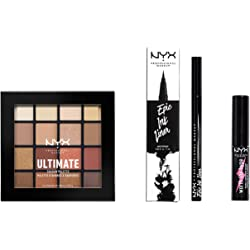 NYX Professional Makeup Kit de Maquillaje de Ojos