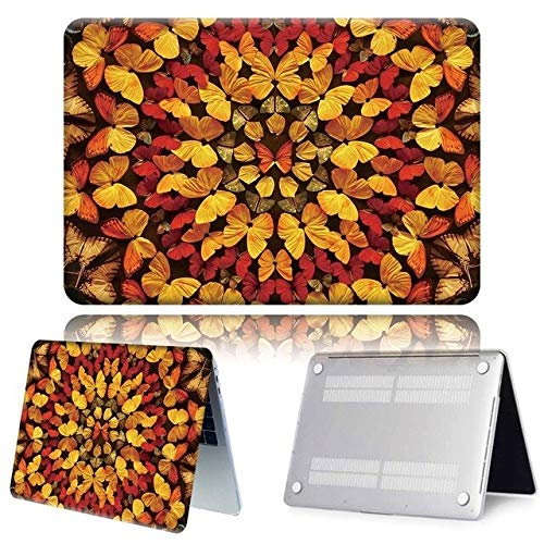 Laptop Case For Apple For Macbook M1 Chip Air Pro Retina 11 13 15 16 Inch 2020 Case For Pro 13 A2289 A2251 A2337 Butterfly Pattern