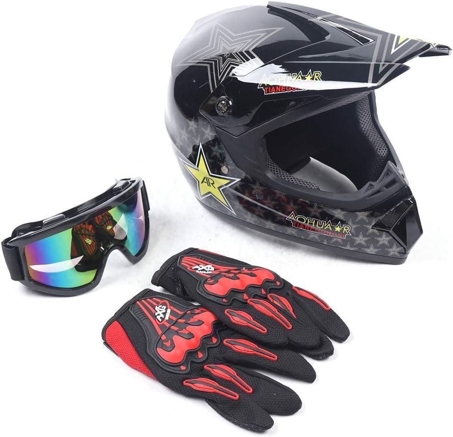 TFCFL Youth Kids Unisex Motocross specialty shop Helmet Bike Off-Road Oklahoma City Mall Off- Dirt