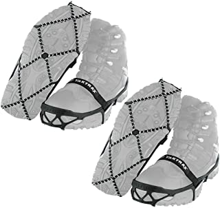 Yaktrax Pro Traction Cleats for Walking, Jogging, or Hiking on Snow and Ice (2 Pair)