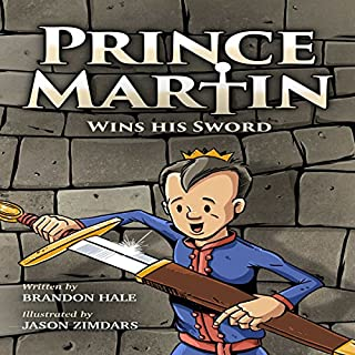 Prince Martin Wins His Sword audiobook cover art