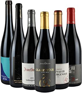 RHEIN AHR WEIN Top-Spätburgunder Weinpaket 6x 0,75l, Prämierte Spätburgunder von MIttelrhein- und Ahr.