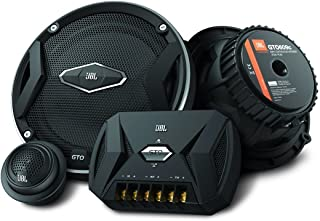 JBL Car GTO 609C 6.5 Inch 2-Way Component Speaker System Including x2 Midrange Speakers and x2 Tweeters - Black