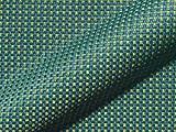 Möbelstoff LUNA 509 Karomuster Farbe grün als robuster