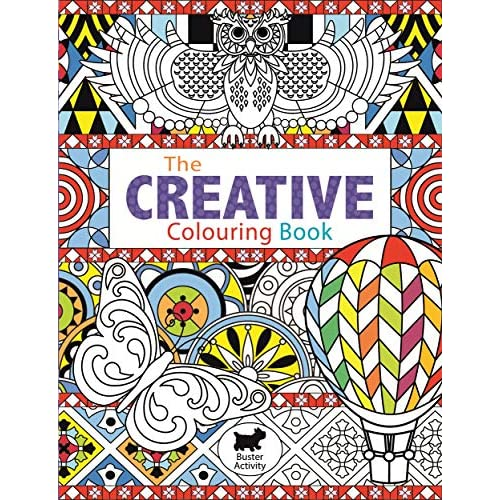 The Creative Colouring Book (Buster Activity) [Lingua Inglese]