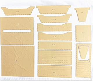 Leather Tool Long Wallet Purse Mould Acrylic Leathercraft Pattern Stencil Template