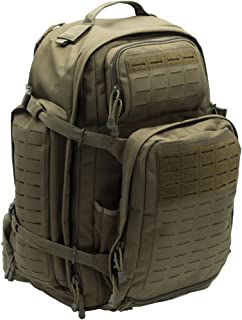 LA Police Gear Atlas 72H MOLLE Tactical Backpack for Hiking, Rucksack, Bug Out, or Hunting