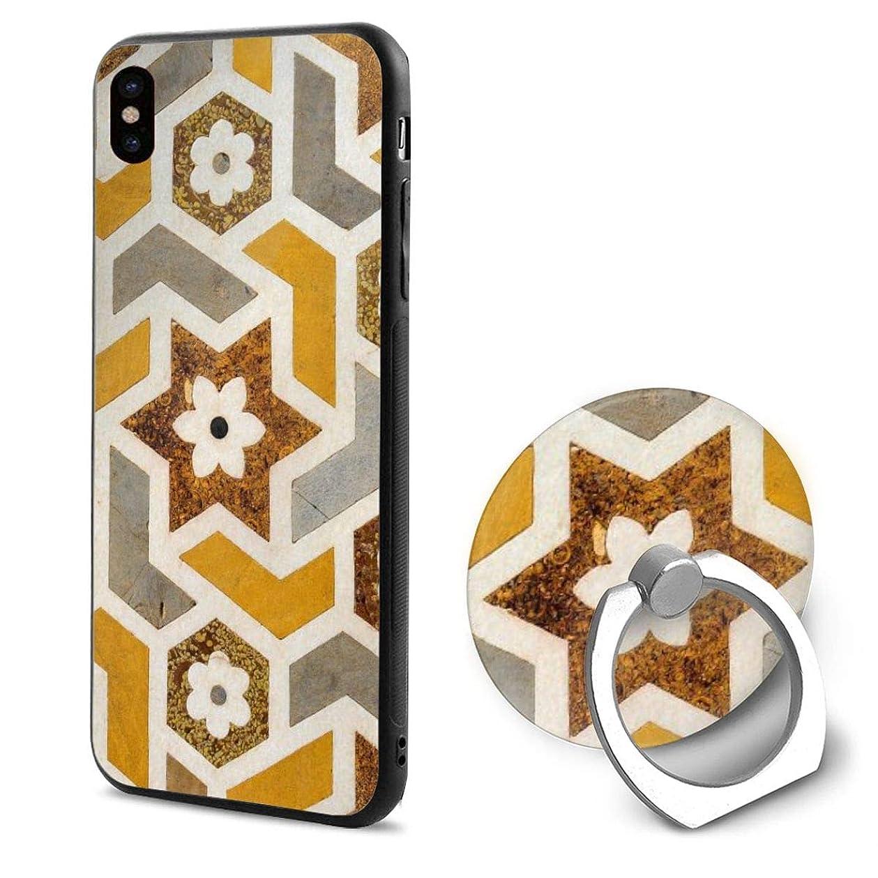お嬢それに応じて応答IPhonexケース スマホX ケース スマートフォンX ケース リング付き リングホルダー付き スマホリング テクスチャ 花柄 携帯Xカバー ホールドリング アイフォンX ケース 耐衝撃 落下防止 薄型