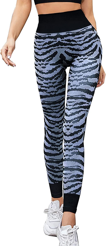 Yoga Leggings Pants for Women Sexy Tie Dye Hip-lifting Elastic H