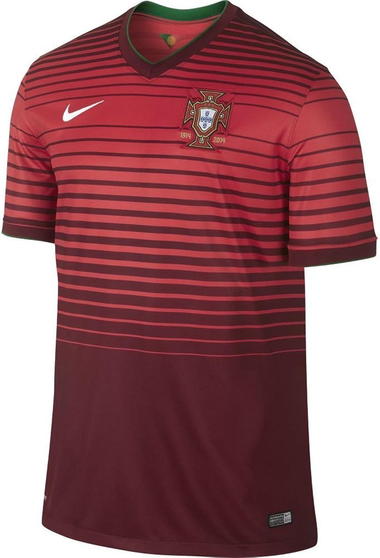 Nike JSY Portugal SS Home Stadium Fuball Trikot