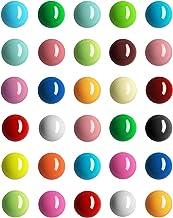 30 Pieces Spherical Fridge Magnets Multicolor Refrigerator Magnets Decorative Round Fridge Magnets for Fridge Classroom Wh...
