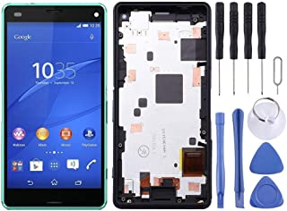 SHUHAN LCD Screen Phone Repair Part LCD Screen and Digitizer Full Assembly with Frame for Sony Xperia Z3 Mini Compact Mobi...