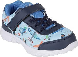 Kazarmax Unisex-Child Multicolor Printed Sports Shoes