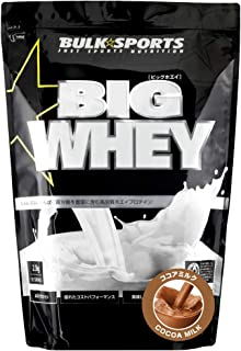 バルクスポーツ プロテイン ビッグホエイ 2.3kg ココアミルク【WPCプロテイン】