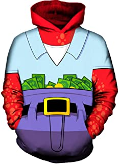 JFSJDF Geometric Triangle Hoodie Sweatshirt Men Women Hip Hop Pullover Hoody Tops Autumn Hooded 3D Clothing 5XL