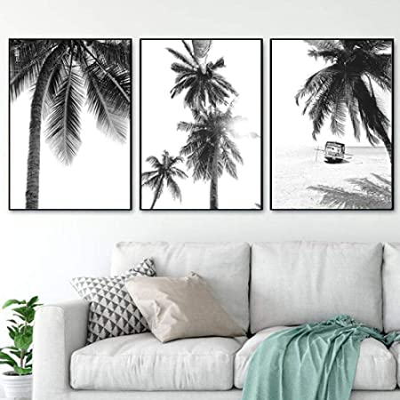 Paradise Print Palm Tree Print Best Seller Beach Wall Art Black Print Bedroom Decor Hipster Poster Tropical Poster Wall Art