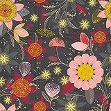 Stitch & Sparkle Mid Century Collection, Patio Burst Coral Dark