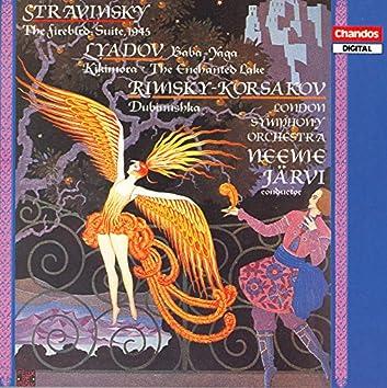 Stravinsky: Firebird Suite (The) / Liadov: Baba-Yaga / Kikimora / Volshebnoye Ozero