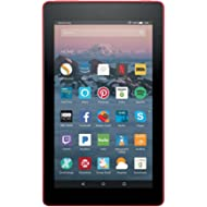 """Fire 7 Tablet  (7"""" display, 8 GB, with Special Offers) - Red"""