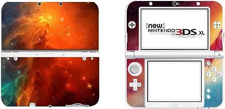 SKINOWN Vinyl Cover Decals Skin Sticker for New 3DS XL - Cosmic Nebular