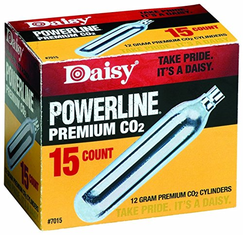 Outdoor Products 15 ct. CO2 (Silver, 12 gm), Model - Daisy 997015-611