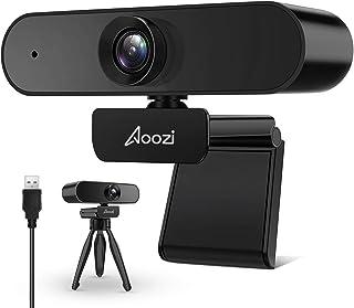 Webcam 1080p, Webcam with Microphone, 1080p Streaming Web Camera, USB Webcam Widescreen for Video Calling Recording, Compu...