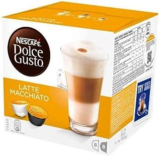 Nescafe Dolce Gusto Latte Macchiato Coffee, 16 Capsules