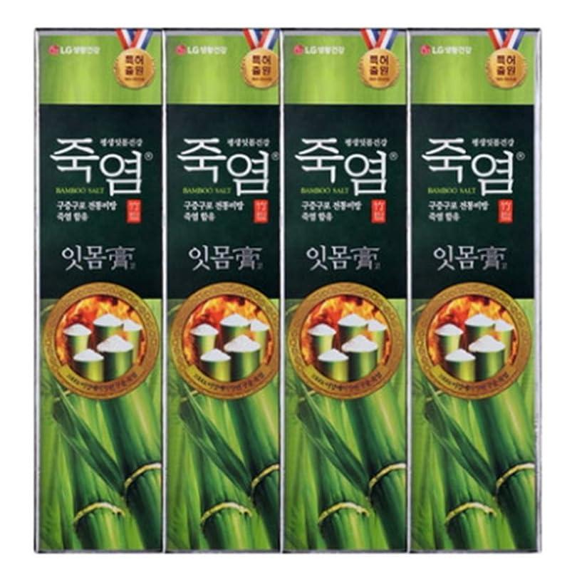 めったにグレートオークおじさん[LG Care/LG生活健康]竹塩歯磨き粉歯肉を健康に120g x4ea / 歯磨きセットスペシャル?リミテッドToothpaste Set Special Limited Korea(海外直送品)