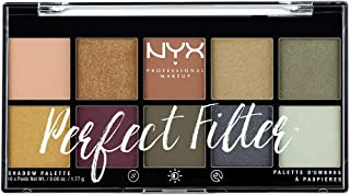 NYX Professional Makeup Perfect Filter Shadow Palette, Olive You 03