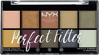 NYX Professional Makeup Paleta de sombras de ojos Perfect Filter Shadow Palette Tono  3  Olive You Color Multicolor