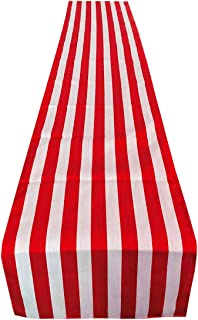 Best red and white table runner Reviews