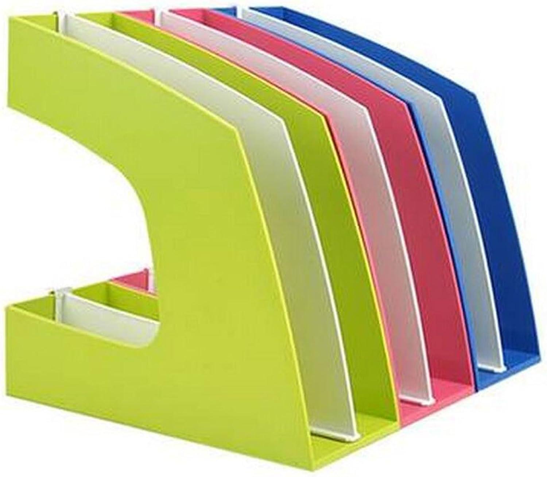 Datei Inhaber Datei Datei Datei Rahmen Datei Rack grün blau Rosa rot Farbe aus Kunststoff für Dateien Dokumente und so weiter B072JB5RTM   Ästhetisches Aussehen  a994f7