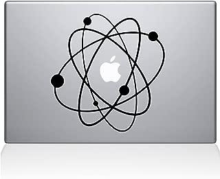 Love Science Atom Big Bang Galaxy Apple Overlay Art Vinyl Decal Sticker Skin Mac Book Air Pro Laptop Notebook People Love (Newest Version) (Black. Love Science Atom Big Bang Galaxy)