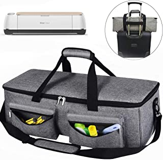 Craft Machine Carrying Case Tote Bag Cover Cricut Accessories, Storage for Cricut Explore Air 2, Cricut Maker,Silhouette Cameo 3,Supplies and Accessories (Gray)