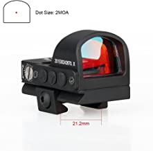 E.T Dragon Mini Compact 2 moa Red Dot Sight for Pistol Glock Shotgun or Rifle for Shooting Hunting