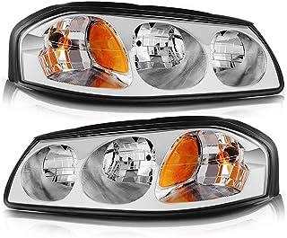 Amazon Com 2004 Chevy Impala Headlights Automotive