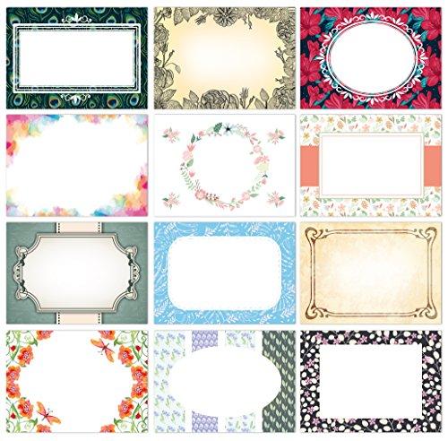 Gutschein Set mit 12 Postkarten zum Selbstgestalten - Ideal als Geschenk zum Geburtstag, zur Hochzeit oder zum Jahrestag - von Sophies Kartenwelt