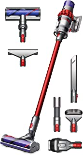 Dyson Cyclone V10 Motorhead Cordless Vacuum Cleaner + Manufacturer's Warranty + Quick Release Extension Hose + Stubborn Dirt Brush + Mattress Tool Bundle