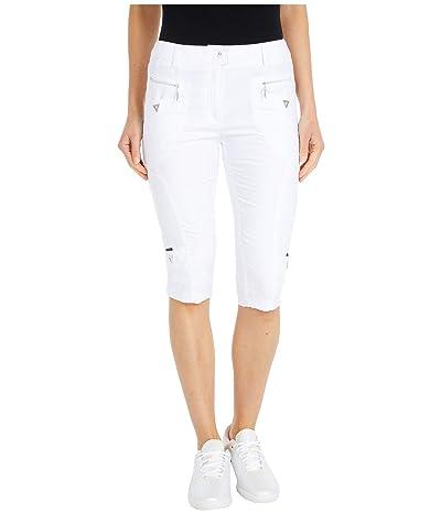 Jamie Sadock Airwear(r) Hybrid Lightweight Mid-Capris (Sugar White) Women