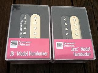 Seymour Duncan JB Jazz Hot Rodded PICKUP SET Humbucker SH-4 SH-2n REVERSE ZEBRA