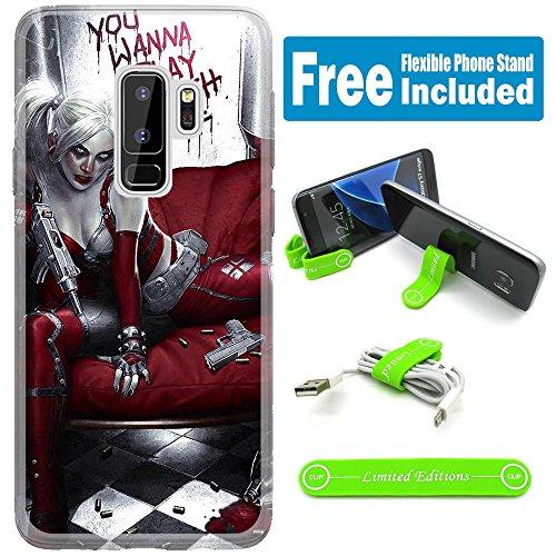 61GH7b-CgCL Harley Quinn Phone Case Galaxy s9 plus