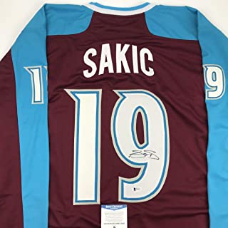 joe sakic jersey