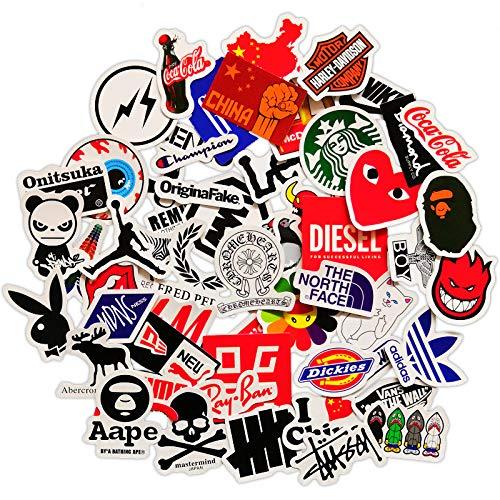 Mini Tide Merk Logo Skateboard Sticker Koffer Telefoonhoesje Laptop Gitaar Decoratieve Panel Stickers