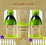 Little Green - Pack anti piojos - champú, acondicionador desenredante y gomina - para niños sin sulfatos, parabenos ni gluten | producto vegano sin aromas añadidos