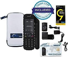 SatPhoneStore Inmarsat IsatPhone 2.1 Satellite Phone Standard Package with Tough Case and Blank Prepaid SIM Card Ready for Easy Online Activation
